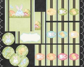 Egg Hunting - Blue Candy Wrap Set