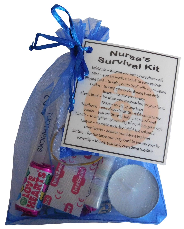Unique Novelty Survival Kit: Nurse's Survival Kit Great Gift For Nurse Gift By SmileGiftsUK