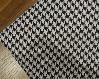 houndstooth fabric cotton fabric by yard sewing fabric girls dress fabric womens clothing sale cotton robe sewing cotton fabric sale cotton