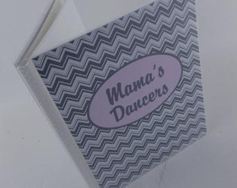Baby Photo Album Girl Photo Album Baby Shower Gift personalized Grandmas Brag Book 4x6 picture album 5x7 Pink Gray Chevron 040