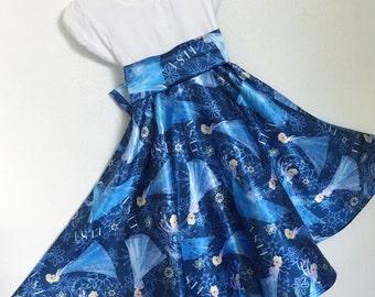 Elsa Twirly T-shirt Dress Toddler Frozen dress