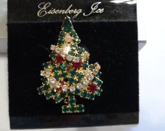 Vintage Eisenberg Ice Christmas tree