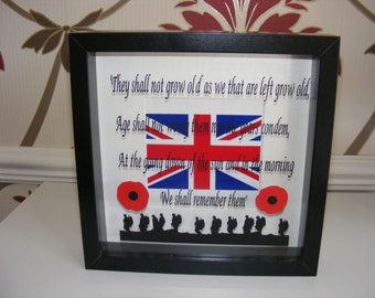 Remembrance Box Frame Picture
