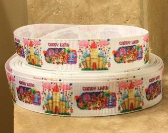 5 YDS Candy Land Ribbon