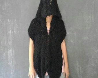 Black Hoodie Wraparound