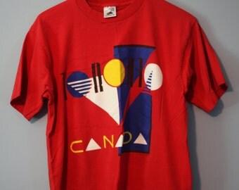 Vintage Oh Yes Toronto! Shirt Toronto Canada