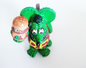Ed Roth Rat Fink / Rat Fink Collectible / Rat Fink Statue / Rat Fink Charm / Rat Fink Toy /  Collectible Toys / Ed Roth Items / Free Ship