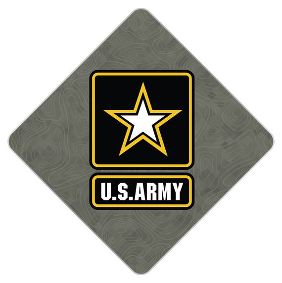 U.S. Army Decorated Grad Cap - Decorating Kit - Ideas for ...