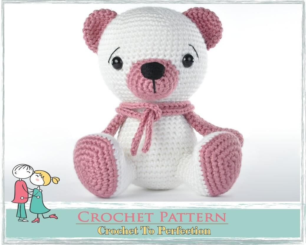 Amigurumi Patterns Teddy Bear : Amigurumi pattern bear teddy crochet by