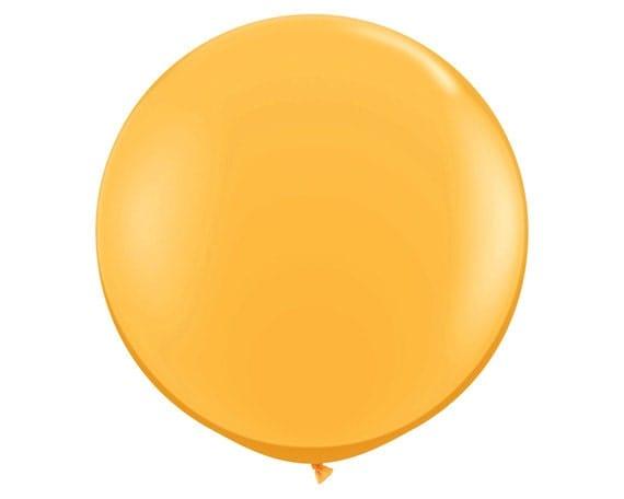 90cm gold balloon round jumbo gold balloon 90cm by lightandco