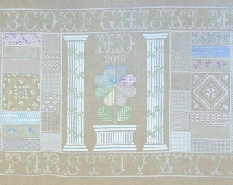 Not Quite Whitework PDF Chart by Northern Expressions Needlework