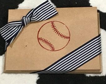 Baseball  notecards
