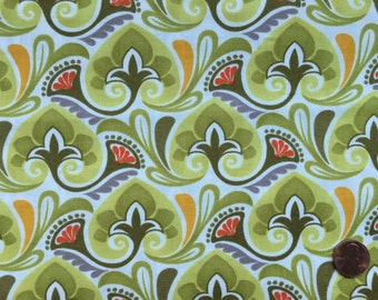 Half Yard - Central Park by Kate Spain for Moda - 27066-13 - Moss Green