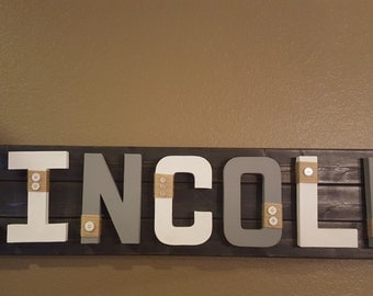 Custom Baby Name Wall Decor - Great for above the crib