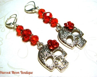 Reign inspired earrings lady lola mary queen of by angiepinkal for Mary queen of scots replica jewelry