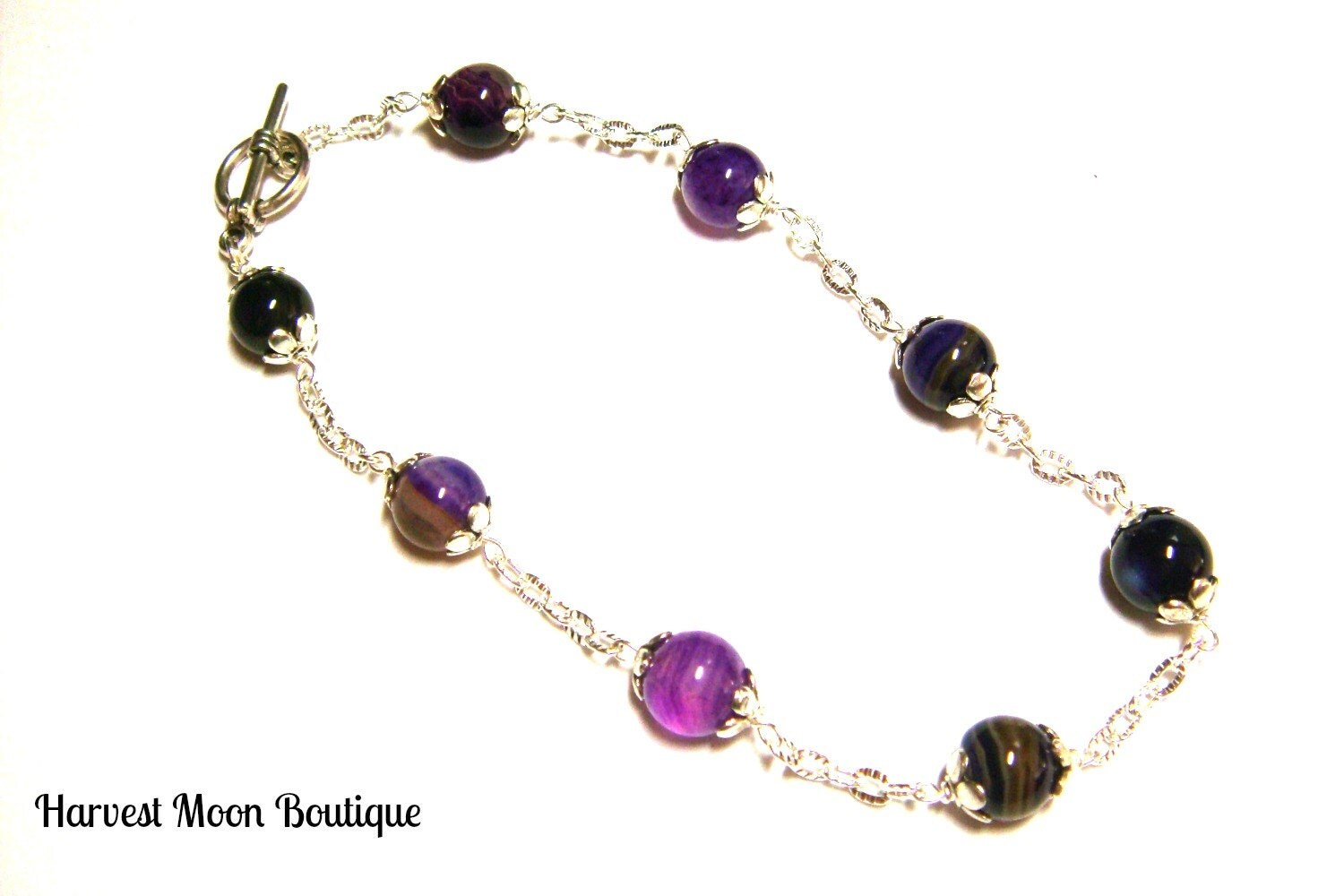 Gemstone bracelet plus size bracelet plus size by angiepinkal for Plus size jewelry bracelets
