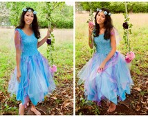 Adult Fairy Costume ~  Mardi Gras ~ Party Dress ~ Masquerade ~ Theatre ~ Fantasy ~ Halloween