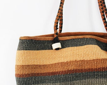 Summer Straw Bag (Lined)