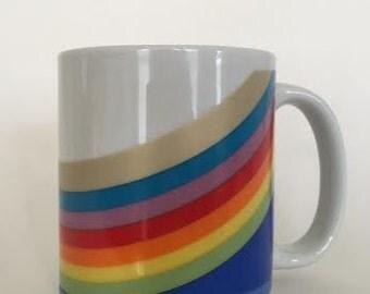 Vintage Rainbow Mug