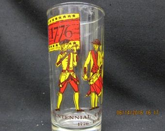Fife and Drum Bicentennial Celebration Collector Glass --- Original