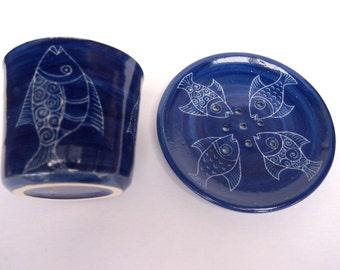 blue bath set | etsy, Hause ideen
