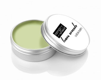 Cuticle Cream Balm Strong Nail Growth Lemon Butter