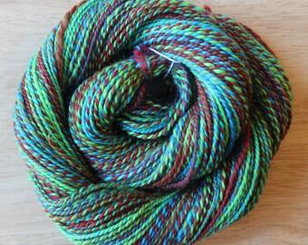 POPSICLES 100% wool handspun yarn 175 yds