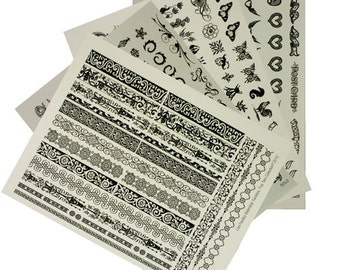 Waterslide Transfers- Tiny Tats Collection (CE7301)