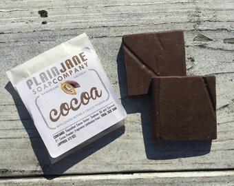 Cocoa Soap - Sample Bar