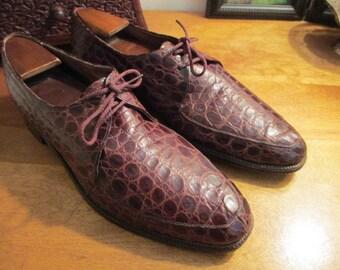 Alligator Skin Men's Shoes