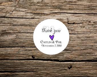 Thank You Tag, Custom Wedding Favor Tags, Round Favor Tags, Favor Tag, Destination Wedding Tag