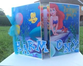 Little Mermaid Birthday card
