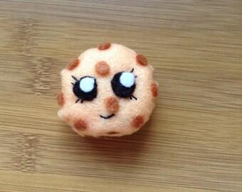 Cookie plush magnet kawaii felt