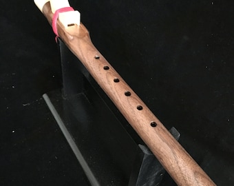 Native American Flute, Key of A, Made of Walnut