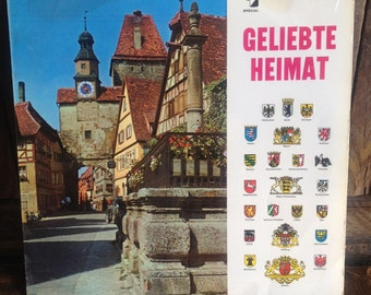 Various - Geliebte Heimat - Album Vinyl Record Lp -  Elite Special - SOLP 33-212  - Released 1960's