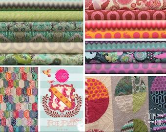 Fox Field by Tula Pink for Free Spirit ~ Fat Quarter BUNDLE ~ Choose Palette: Sunrise, Shade, or Dusk