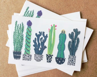 cactus tattoos colorful greenery temporary tattoos southwest botanical plants festival fashion tattoos green black white floral illustration