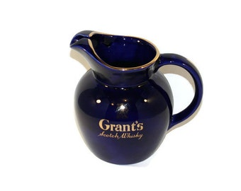 Grant's Scotch Whisky Water Jug or Pitcher Promotional or Advertising Barware