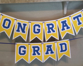 Congrats Grad - party banner