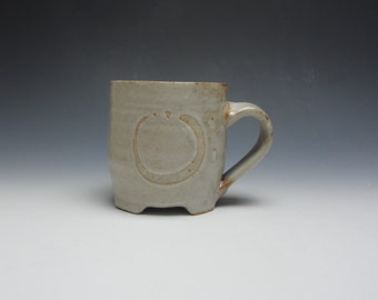 Shino Mug with Brushwork