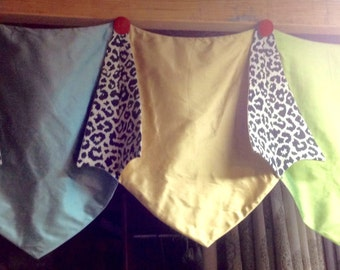 Made To Order......Using YOUR Fabric......Pretty Custom Made Topper....Hang on Rod or Medallions
