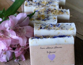 Soap wedding favors,Bridal shower favors,baby shower favors,personalized favors,handmade natural soap,lavender soap,lavender favors,soap