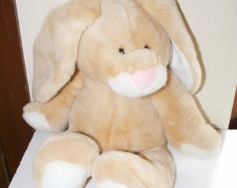 "Large 20"" Plush Bunny Rabbit by Commonwealth 1992"
