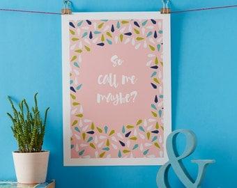 Call Me Print