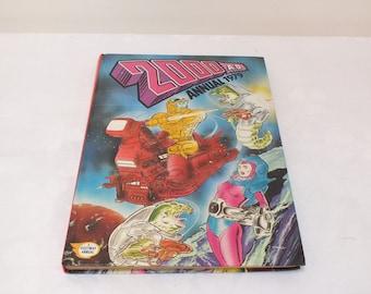 2000AD Annual Hardcover 1979 Old Annual Dan Dare Vintage Annual Childrens Annual Sci-Fi Gift