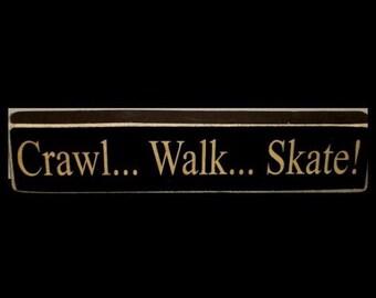 Crawl Walk Skate,Hockey Nursery,Hockey,Hockey Decor,Hockey Player,Hockey Gift,Hockey Gifts,Hockey Signs,Hockey Sign,Hockey Baby,Hockey