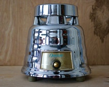 Vintage Osterizer Chrome Beehive Blender/ 5 Cup/ Model 235/ Oster/ Mid Century Small Appliance/Retro Kitchen Appliance
