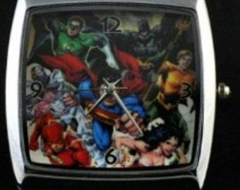 Watch Marvel Super Heroes Justice (metal strap)