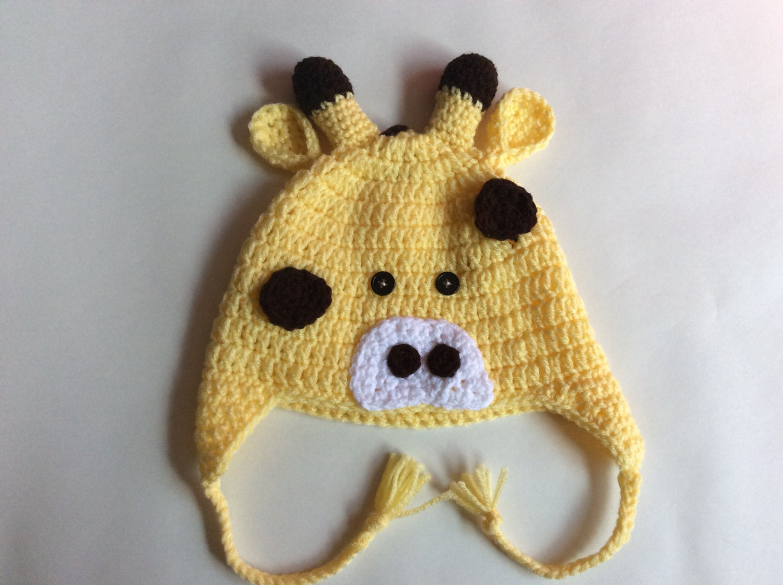 Crochet Pattern Giraffe Hat : Crochet Giraffe Hat