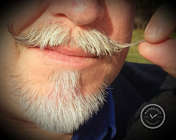 Mustache Wax - Firm Hold - Petroleum Free and Vegan